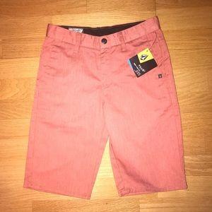 Volcom boys shorts 14 NWT